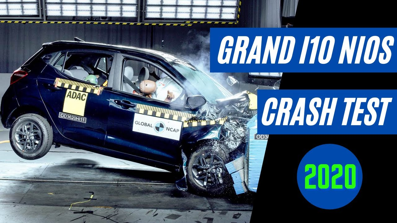 क्यों दी i10 NIOS को 2 Star Rating ? Hyundai Grand i10 NIOS Global NCAP Crash Test Report