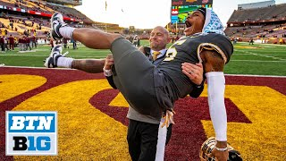 P.J. Fleck Reacts to Outback Bowl Selection | MInnesota Football
