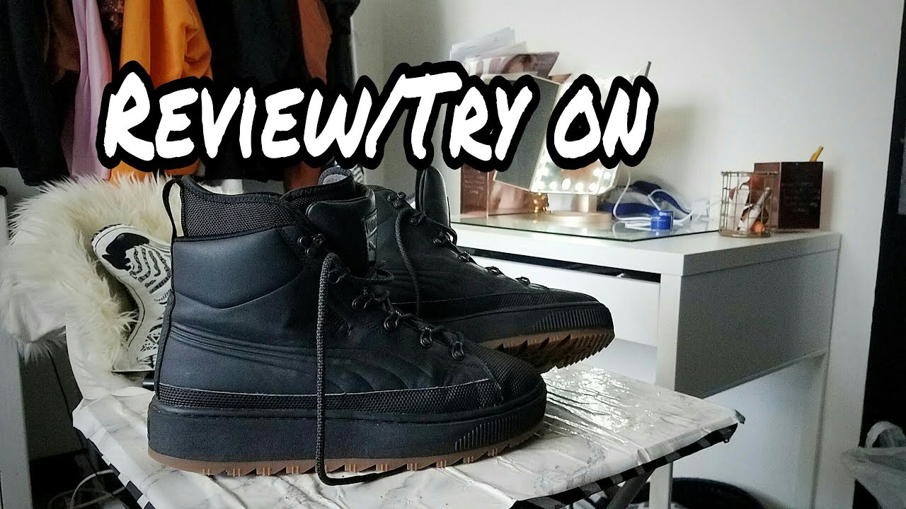 2c5ac2d1fa8d1 Puma ren boot review|on feet TRY ON