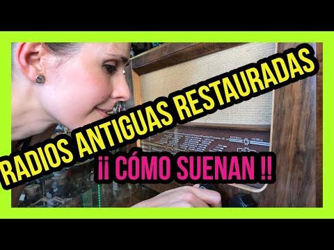 👉SONIDO RADIO ANTIGUA RESTAURADA👈RADIO RETRO, VINTAGE, STEREO, MUSICA, AM FM | RESTAURACIÓN
