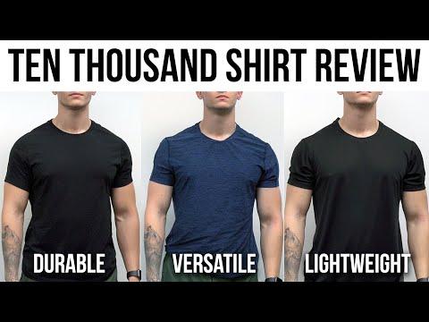 Ten Thousand Shirt Review | Full Comparison