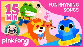 Baby Birdie and more | Fun Rhyming Songs | +Compilation | Pinkfong Songs for Children