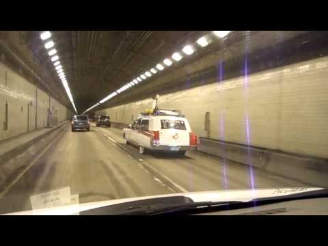"""The Pittsburgh Ecto-1"" in Squirrel Hill Tunnel, Pgh, PA"