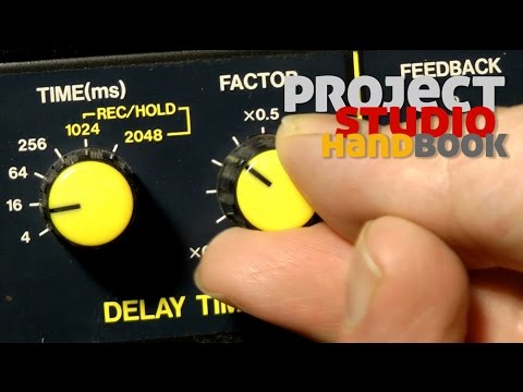Phasing, flanging and chorus time domain effects