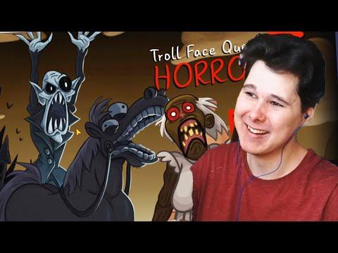 ТРОЛЛИНГ ХОРРОРОВ - ГРЕННИ, СЦП и тд Troll Face Quest Horror 3