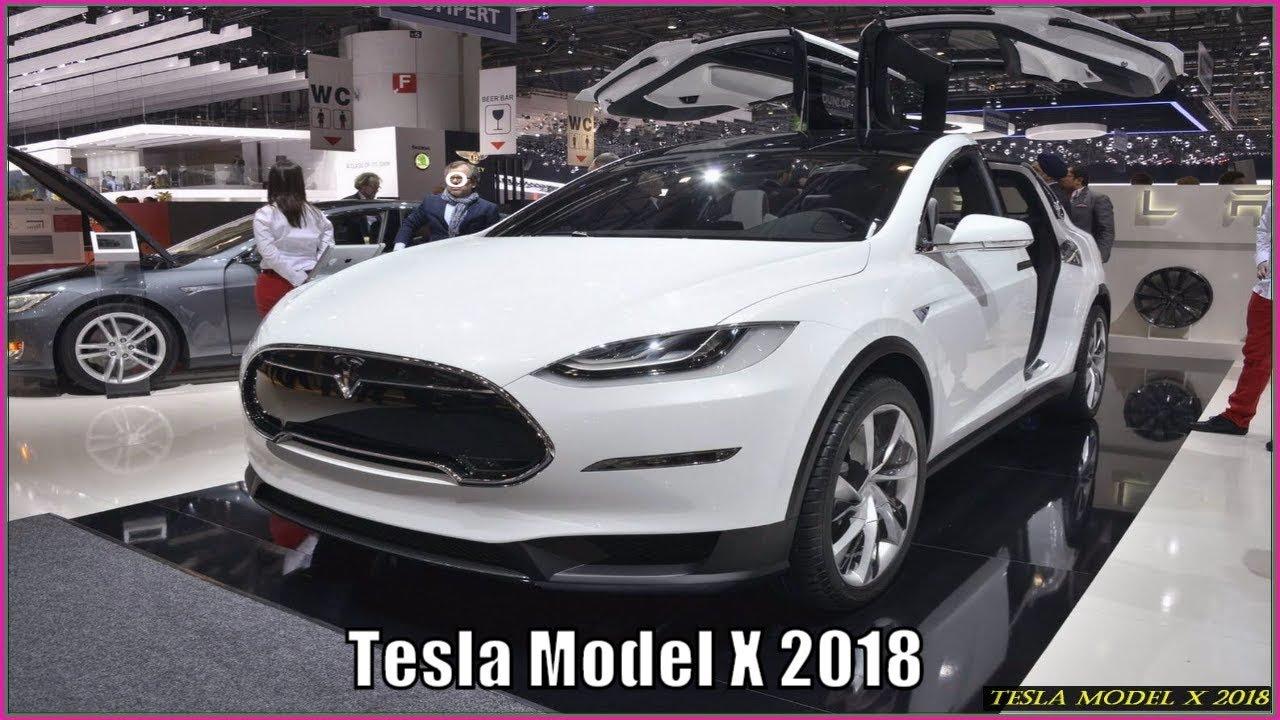 Tesla Model X 2018 Electric Suv Review Interior Exterior