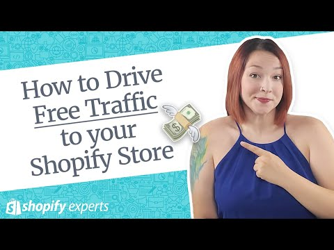 How to Drive Free Traffic to your Shopify Store thumbnail
