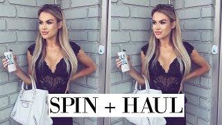 spin, piercings & a beauty haul | DailyPolina