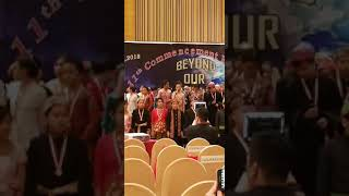 Chinese Speech in Primary Graduation Resimi