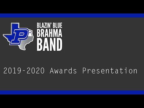 2019-2020 Pewitt High School Band Awards