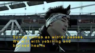 BLUE // Big Bang - Lyrics English Sub