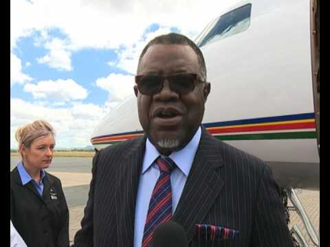 President Hage Geingob leaves the country for a three-day state visit to Zimbabwe - NBC