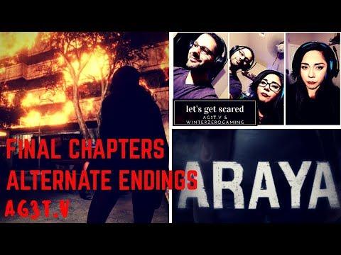 [ARAYA] CHAPTER 9 & 10 WATCH Alternate Endings   Let's Play Thai Horror PC Game