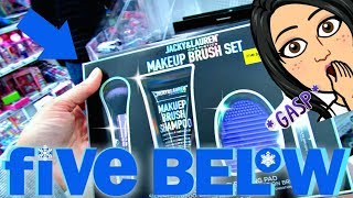 FIVE BELOW SHOPPING!!! $1 to $5 CLOTHES, MAKEUP, NAILS + MORE!!!