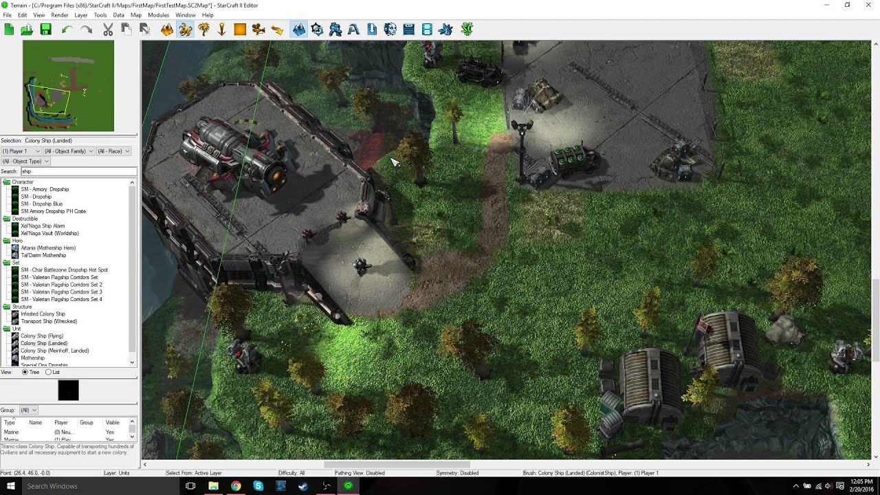 Learning How to Use the StarCraft 2 Map Editor: Units and Properties