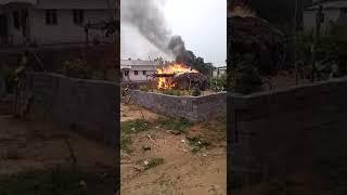 Shock cercute in a home kottha sathram.kavali mandalam.nellore dst.