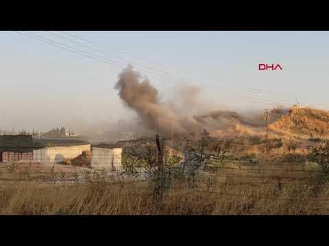 Suriye'den Nusaybin'e 9 roket düştü, belediye hoparlörlerinden uyarı geldi (2)