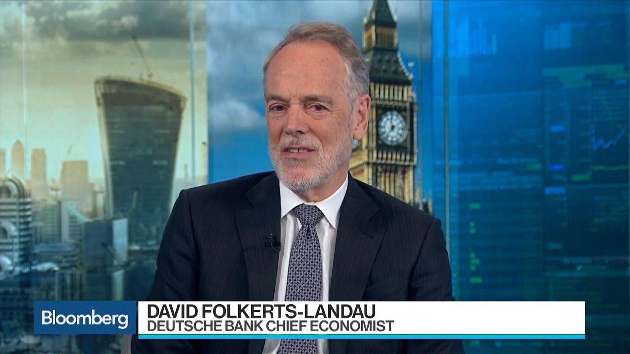 Deutsche Bank Shakeup an 'Epochal Change,' Folkerts-Landau Says - YouTube