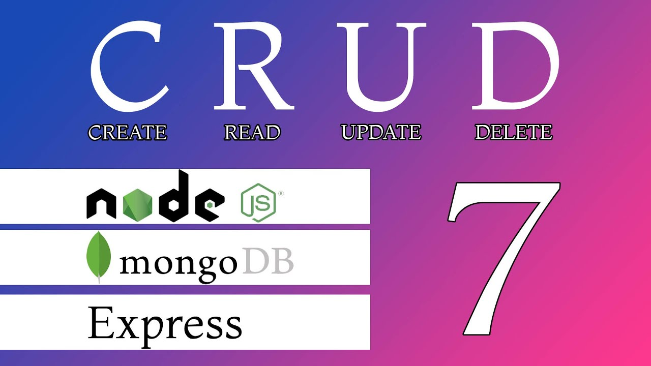 CRUD with Node JS, Express and Mongo Db 7: Upload images and Files with Multer