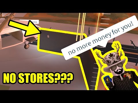 asimo3089 REMOVES EVERY STORE!!!   Roblox Jailbreak Volcano Update