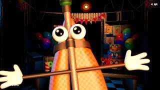 Five Nights With Mr. Hugs Friends