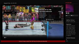 Wwe2k19 wantin? Lets go road to 550