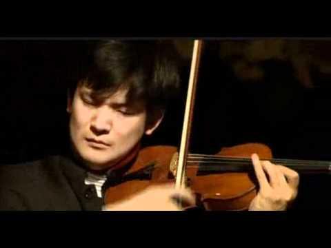 Tatsuki Narita | Ravel | Violin Sonata No.2 | 2nd mvt  | Queen Elisabeth Competition | 2012
