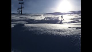 Эрджиес Турция 2020 Катание на сноуборде по трассам и фрирайд Erciyes Turkey 2020 Freeride
