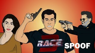 Race 3 spoof | salman khan | hum hai toon