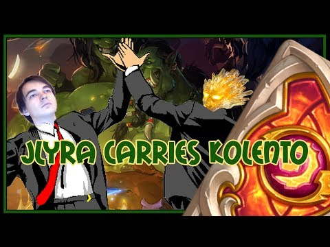 Hearthstone: Lyra carries Kolento (control priest)