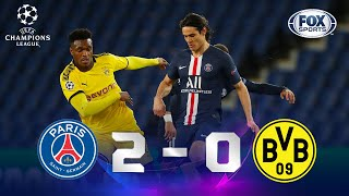 PSG - Borussia Dortmund [2-0] | GOLES | Octavos de Final (vuelta) | UEFA Champions League