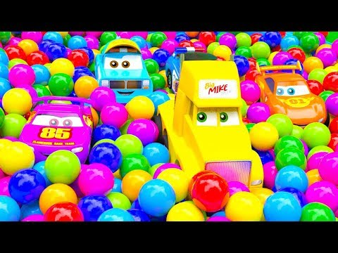 Little City Cars Heroes and Huge Color Ball Tornado - part 2