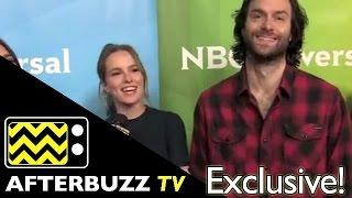 Bridgit Mendler & Chris D'elia Interview @ NBC Universal's Summer Press Tour | AfterBuzz TV
