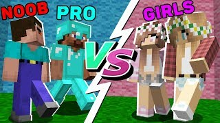Minecraft - BOYS vs GIRLS : WHO WIN? in Minecraft Animation
