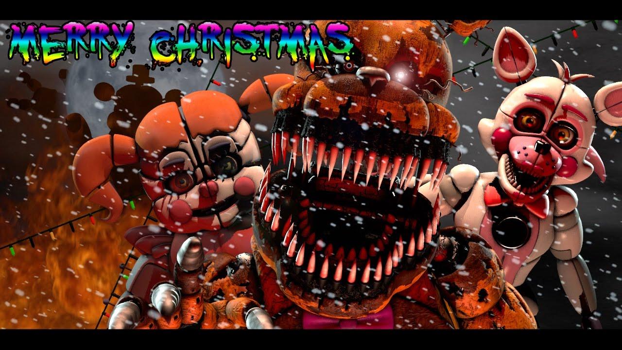 Cute Merry Christmas Wallpaper 2016 Fnaf Sfm Merry Fnaf Christmas By Jt Machinima Youtube