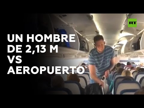RT en Español: El otro 'mal de altura': ¿Cómo viajan en avión lo pasajeros de 2 metros? | RT Play