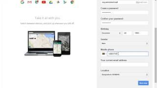 Het Maken van een Gmail-Account 2017 । E-mail, e-Mail Account, Maak een gmail/e-mail account gratis