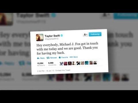Michael J. Fox and Taylor Swift End Feud - Splash News | Splash News TV | Splash News TV