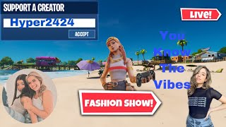 🔴(NA-EAST) CUSTOM MATCHMAKING FORṪNITE FASHION SHOW) LIVE SQUAD-DUOS -PS4,PC,SW