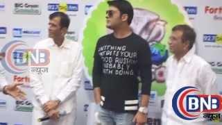 Promote Kapil Sharma upcoming movie Kis Kisko Pyaar Karu at 927 Big FM studio