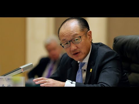 World Bank President Dr. Jim Yong Kim speaks at The National Press Club