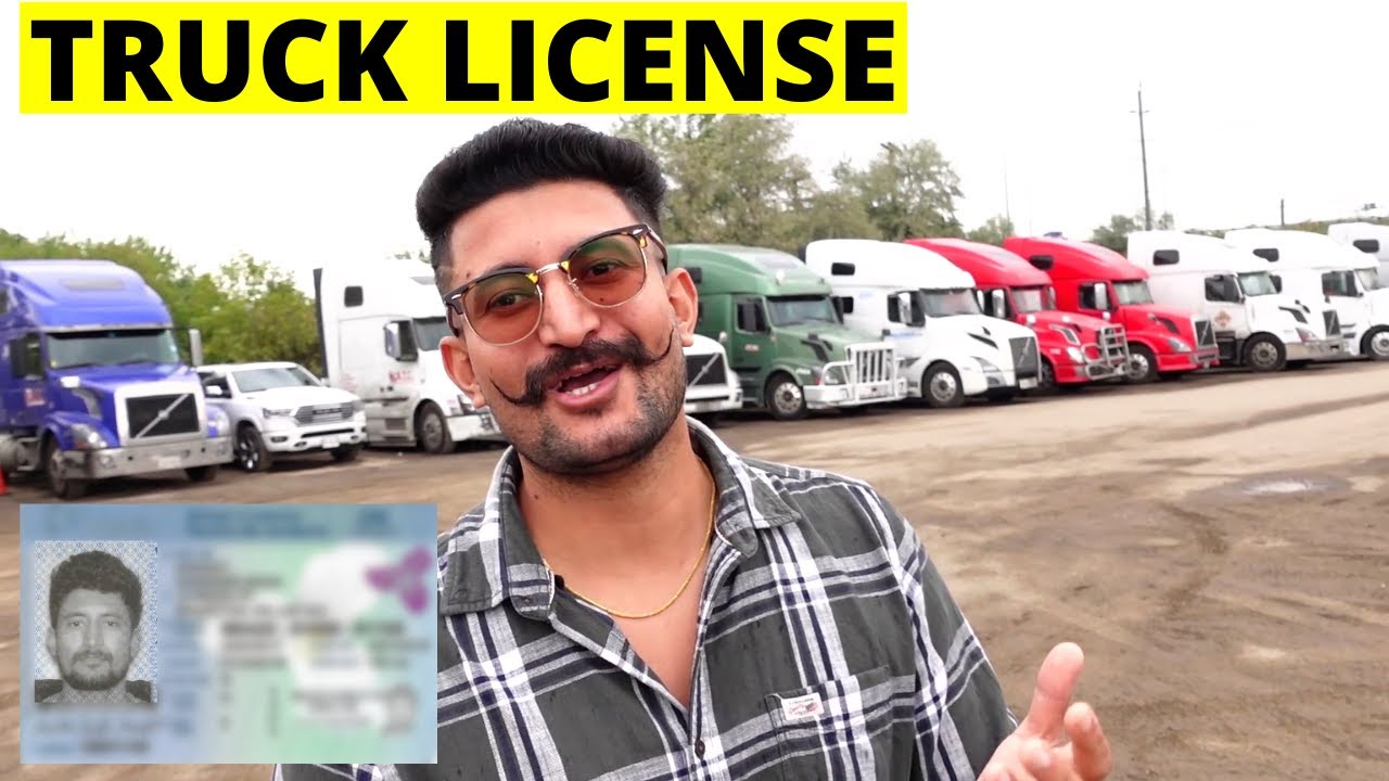 HOW TO GET TRUCK LICENSE IN CANADA | STEP BY STEP