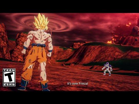 GOKU TURNS SUPER SAIYAN IN 4K! DRAGON BALL KAKAROT 2020 | SJJ Goku vs Frieza Full Fight Scenes