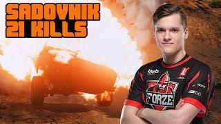 Sadovnik TOP-1 with 21 kills
