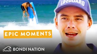 Bondi Lifeguard Tommy's Most Memorable Moments