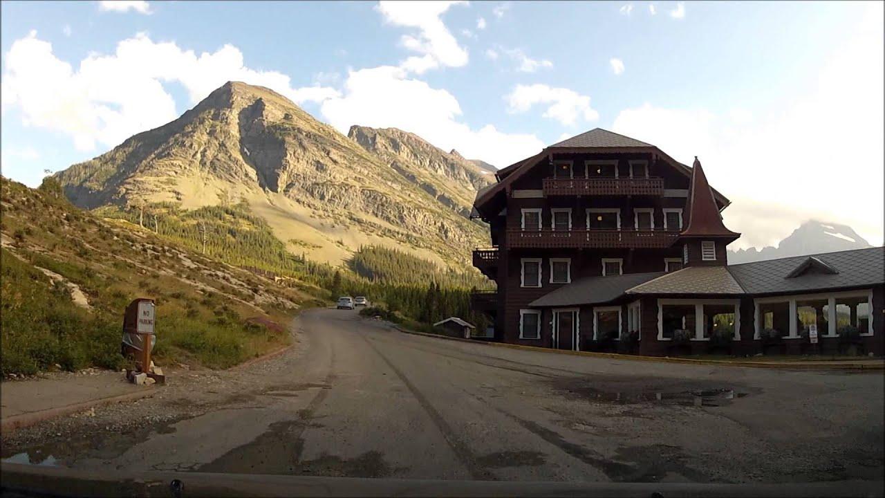 Swiftcurrent To Many Glacier Hotel Glacier National Park