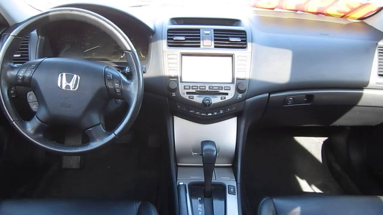 2006 Honda Accord Alabaster Silver Metallic Stock 13005p Interior