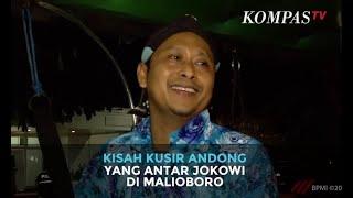 Kisah Kusir Andong yang Antar Jokowi di Malioboro