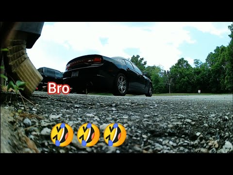 Exhaust whistle prank! He gets MAD!! Explicit language  : funnyvideos