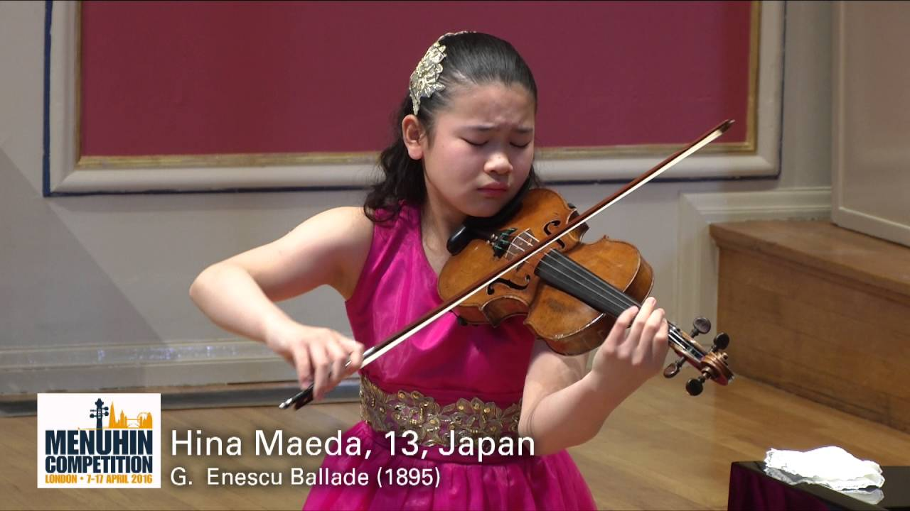 Hina Maeda, 13, Japan - YouTube